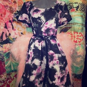 Torrid Floral Belt Dress